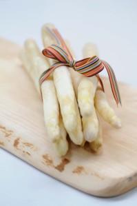 asparges med sløjfe