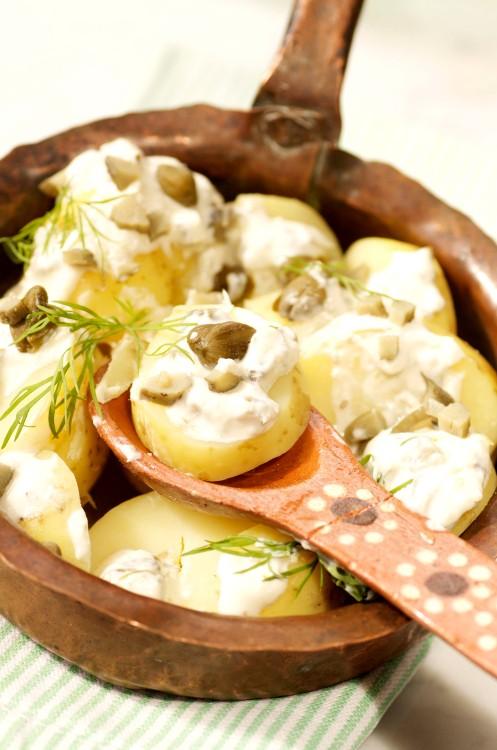 kartoffelsalat m.peberrodsdressing