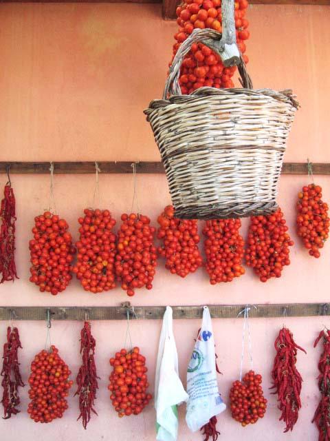 tomater.tørrede