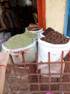 indien.sækkevis af krydderier