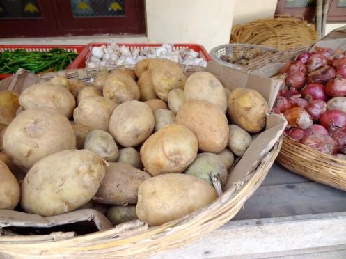 kartofler og løg