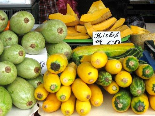 squash grønne og gule