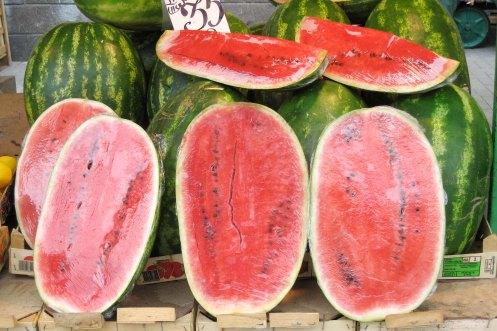 vandmeloner a