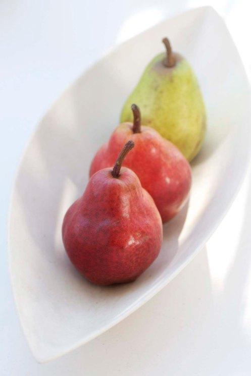 pærer i skål