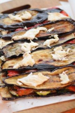 auberginer til rulle