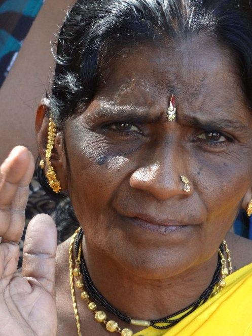 Hyderabad.kvinde