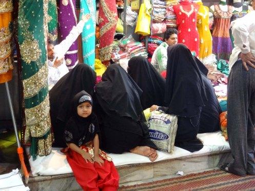 Hyderabad.sorte kvinder