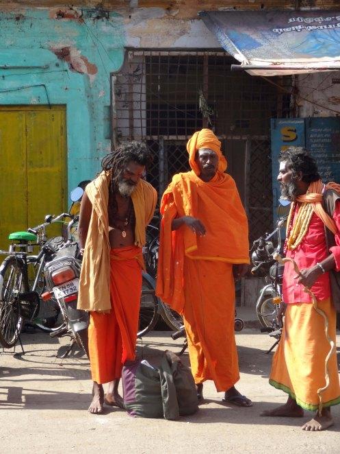 Indien.hellige mænd