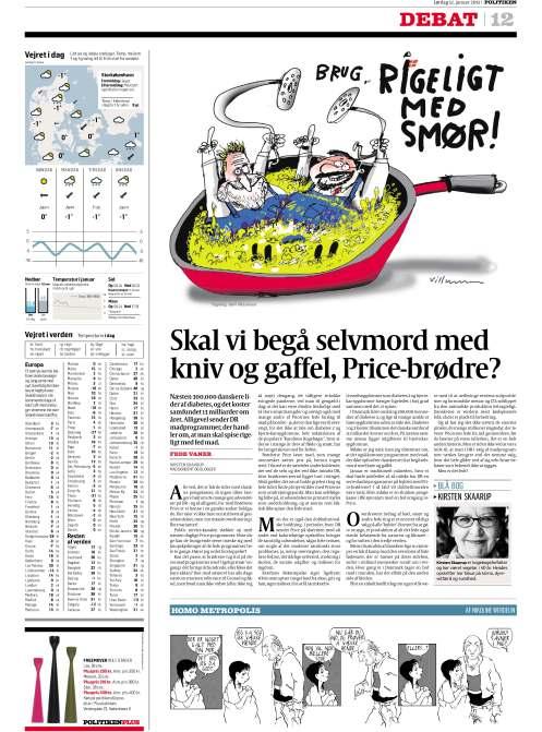 Kirsten Skaarup, Politiken 12 jan