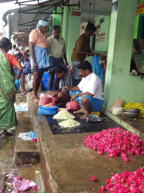 Madurai.blomstermarked3