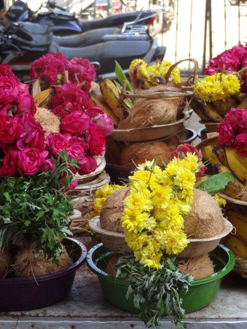 Madurai.tempelblomster