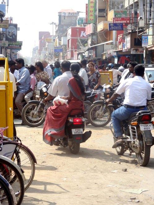 Pondicherry. gade