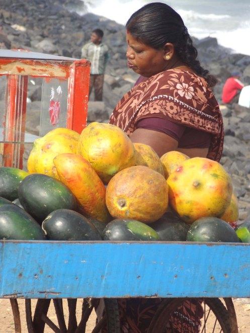 Pondicherry.kvinde m vandm