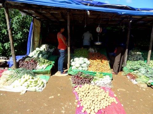 Sri Lanka.grøntsagsbod