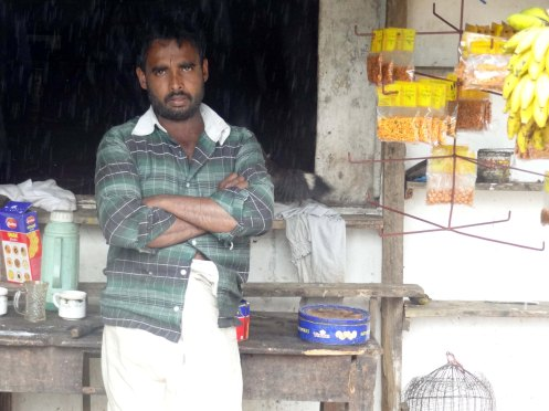 Sri Lanka.mand v vejen