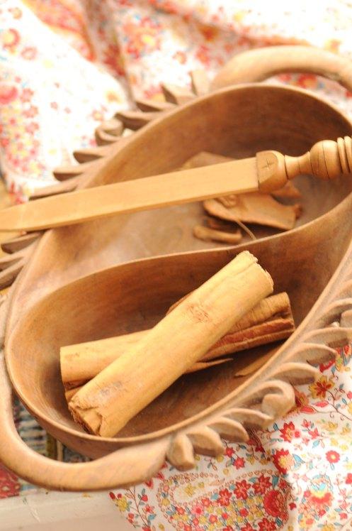 kashmir træskål