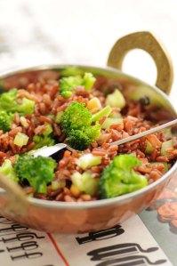 salat m røde risog broccoli 1.