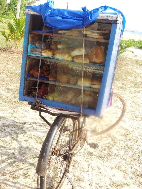 Sri Lanka. brødcykel