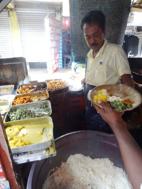 Sri Lanka.gadekøkken