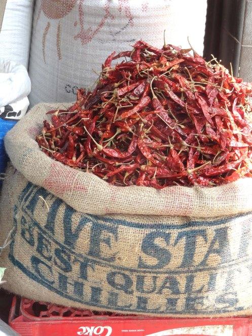 SriLanka.røde chili