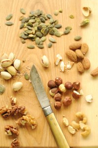 nødder og kerner