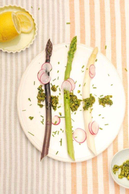 asparges 5 farver