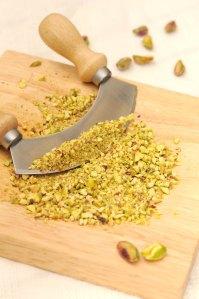 pistacienødder hakket