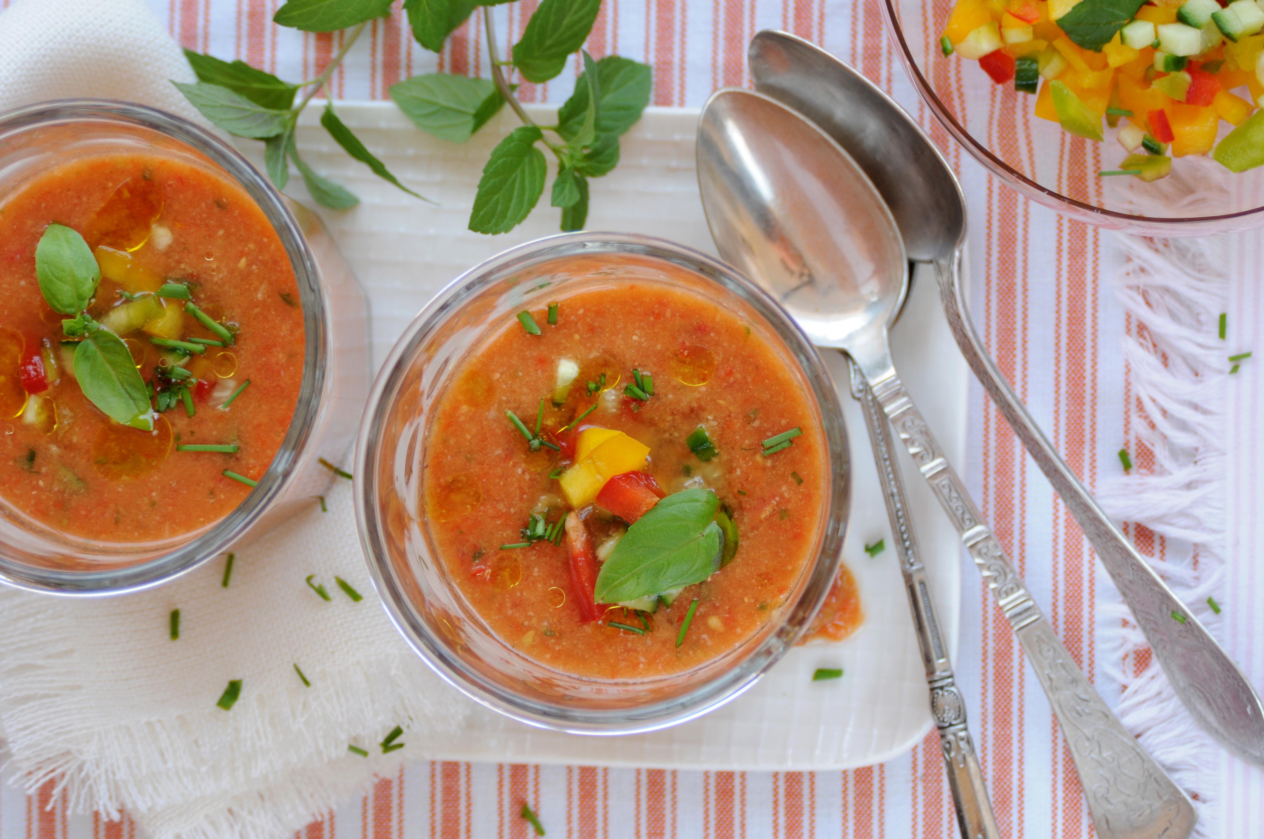 spansk kold suppe