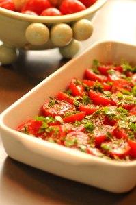 tomater i fad
