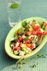 græsk salat 1