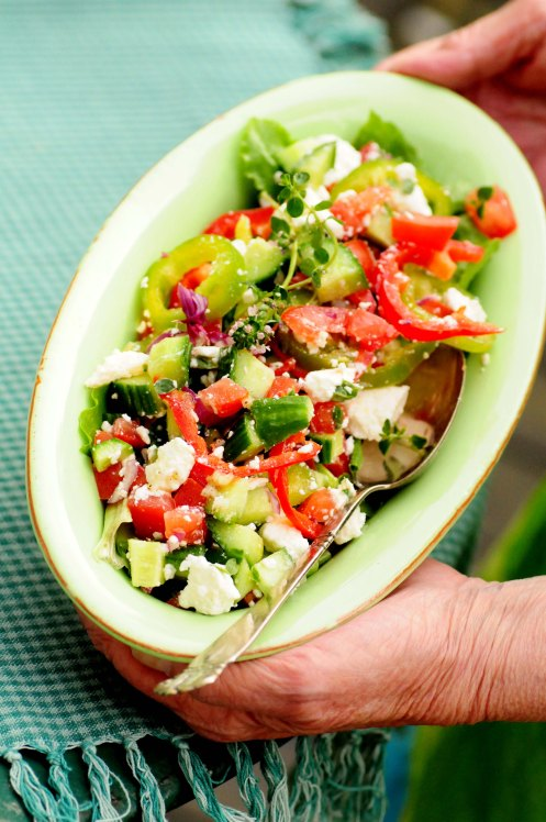 græsk salat vibeke 1