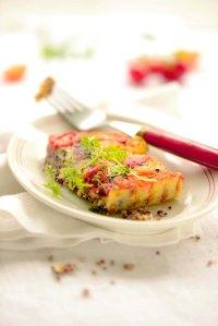 tomatløgtærte