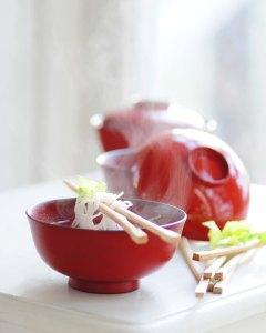 miso i lakskåle