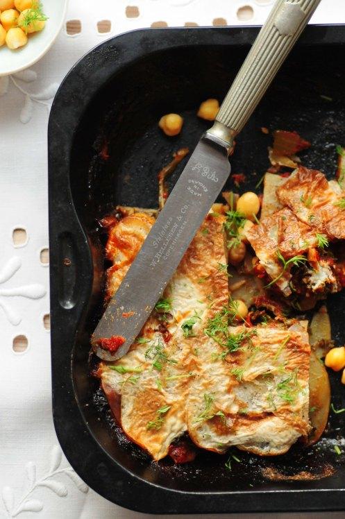 grønkåls- og kartoffellasagne.b