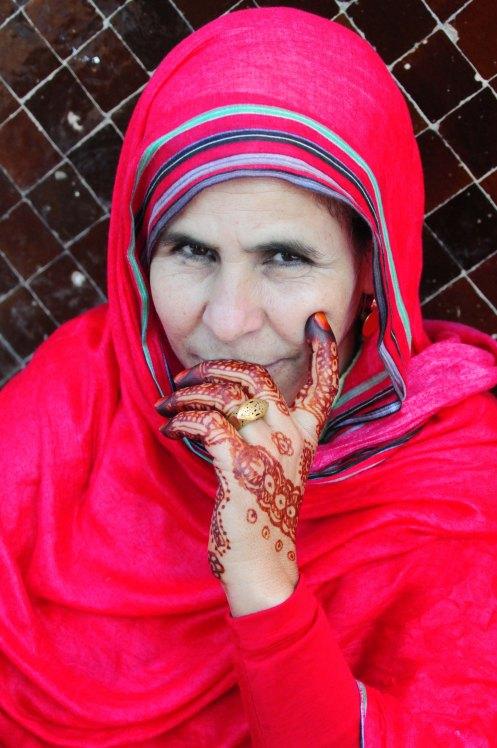 Marokko.hennakvinde