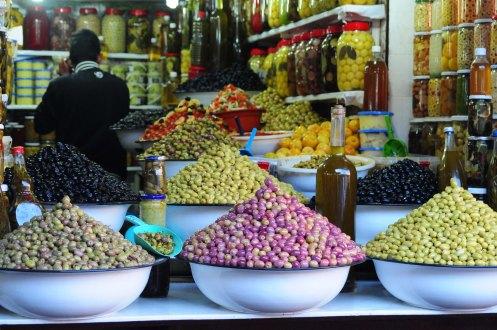 Marokko.olivenbod