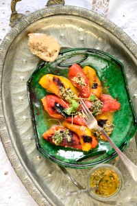 grilled peber m charmoula