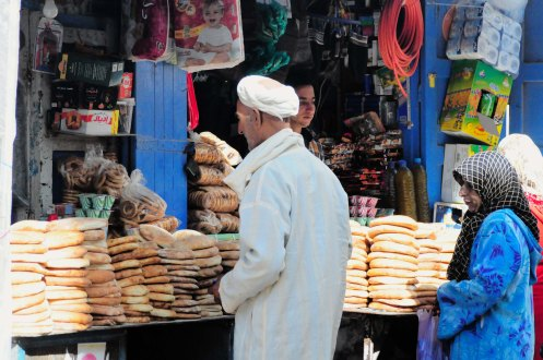Marokko.brødudsalg