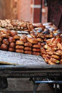 Marokko.brødvogn