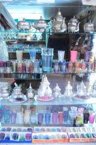 Marokko.glas og kander