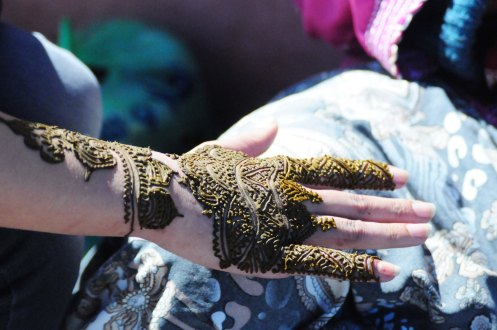 Marokko.hennahånd