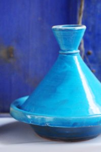 Marokko.tagine blå