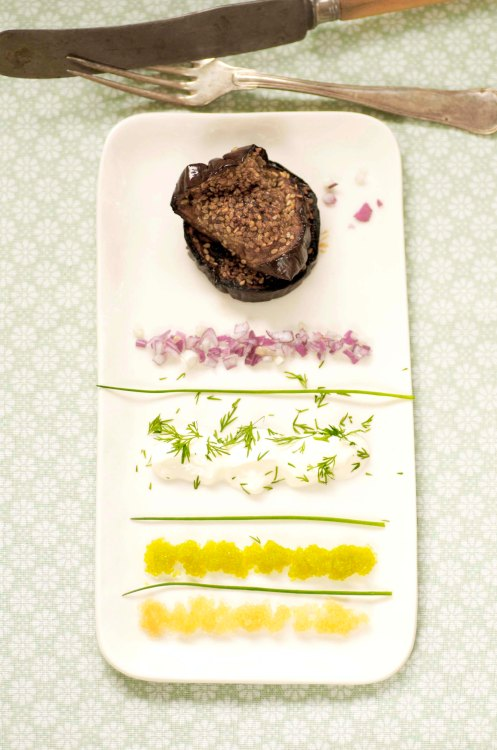 aubergine.sesamgrillet m.tangkaviar.1