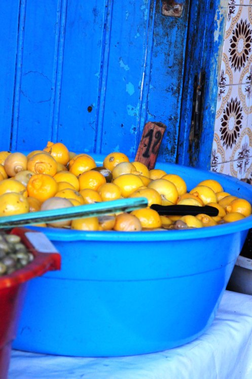 Marokko.syltede citroner
