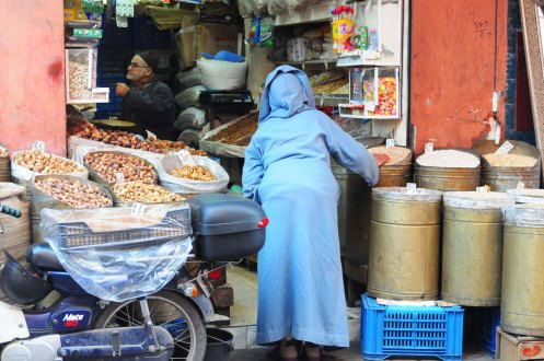 Marokko.tørret frugt