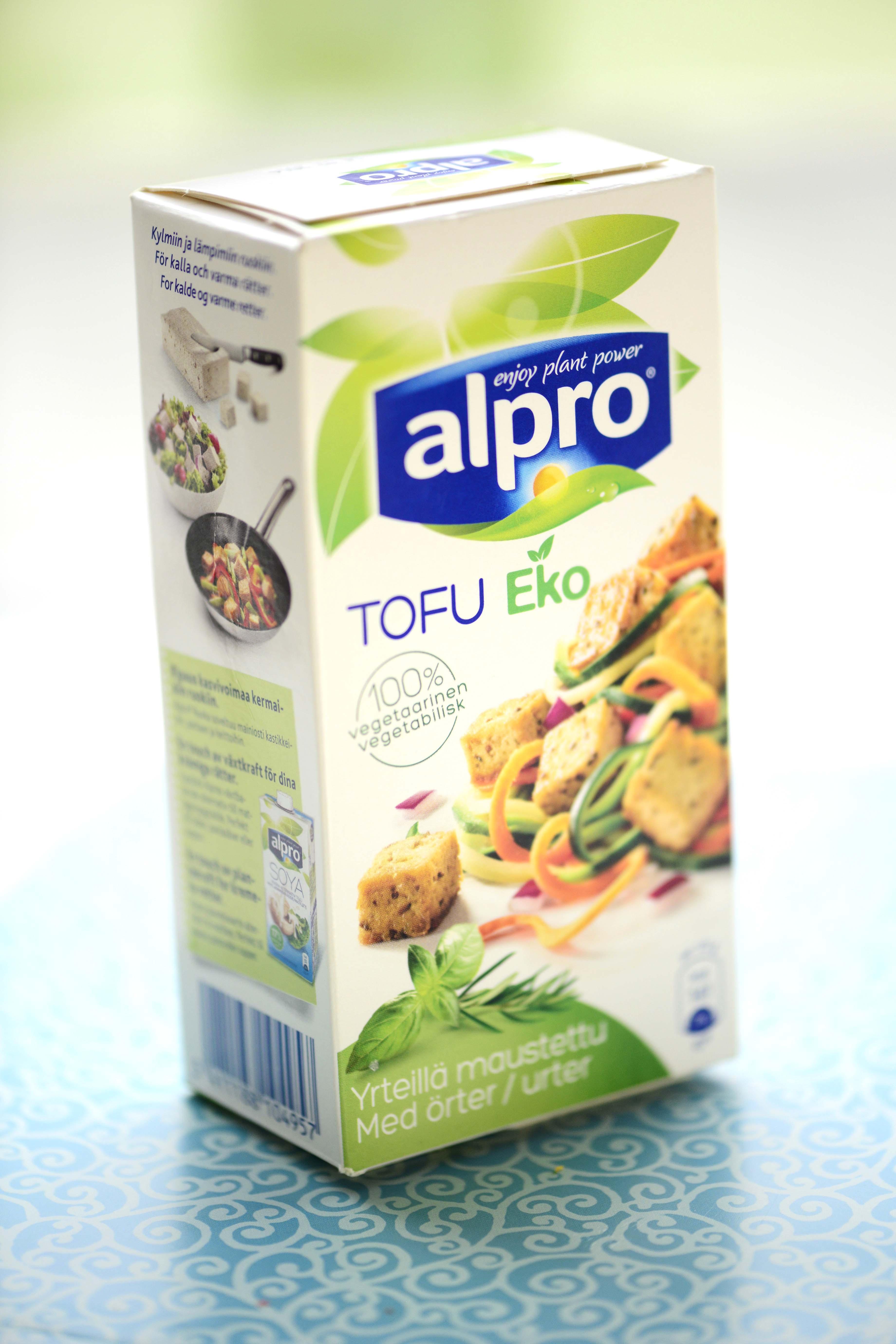 hvad er tofu lavet af