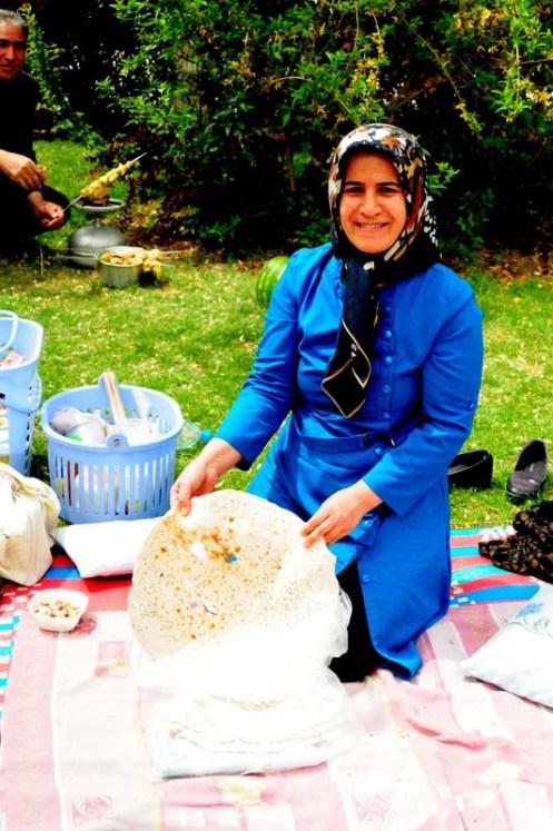 iran picnic brød