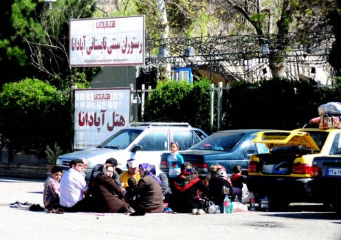 iran picnic erkering