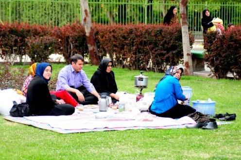 iran picnic park