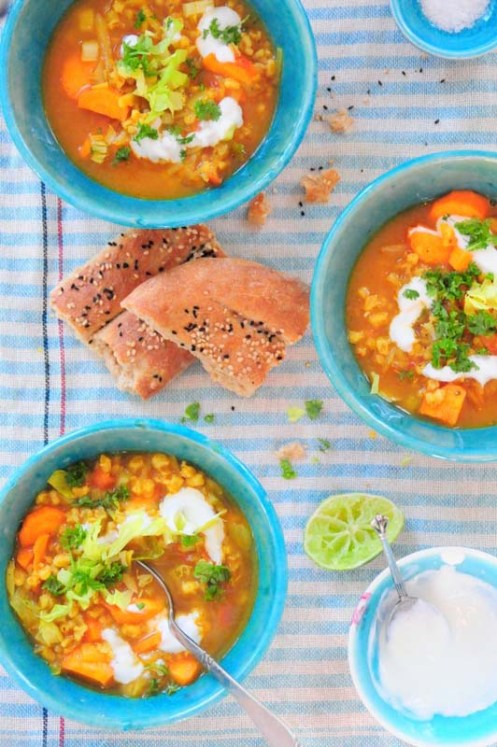 iransk suppe m perlebyg